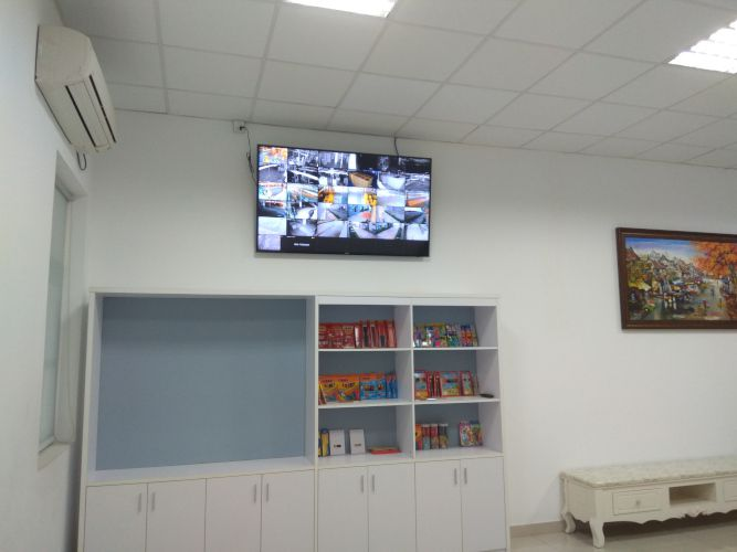 CCTV Display in MD's Room
